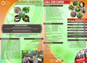 Poster Semnassosek Fakultas Pertanian UGM _2016